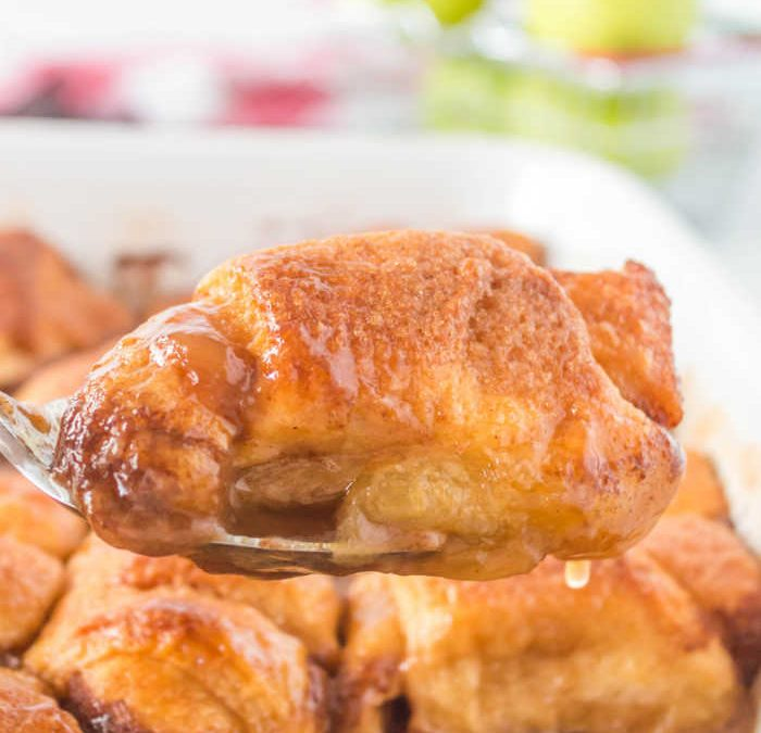 Easy Apple Dumplings with Crescent Rolls