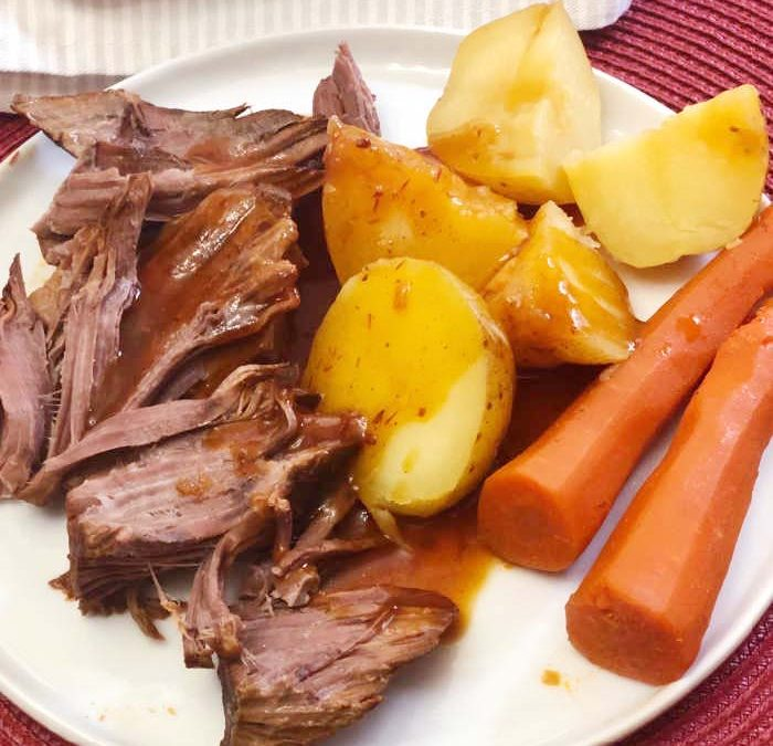 Instant Pot Barbecue Roast Dinner