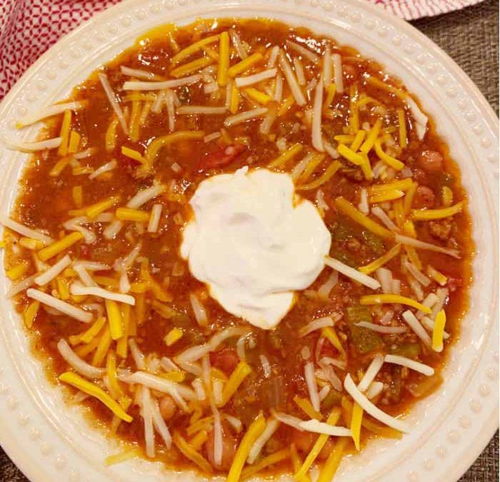 Instant Pot Chuckwagon Chili Recipe