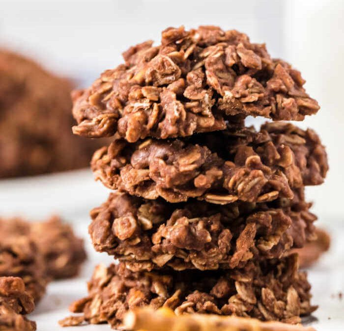 Pretzel No Bake Cookies
