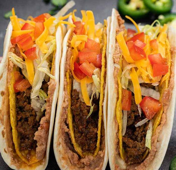 Instant pot Double Decker Tacos