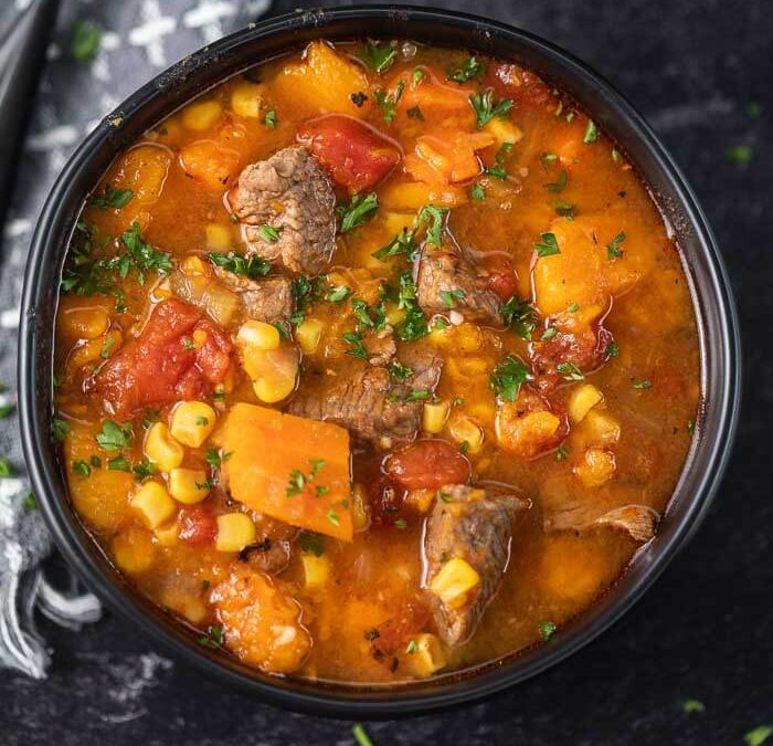 Instant pot Sweet Potato Stew