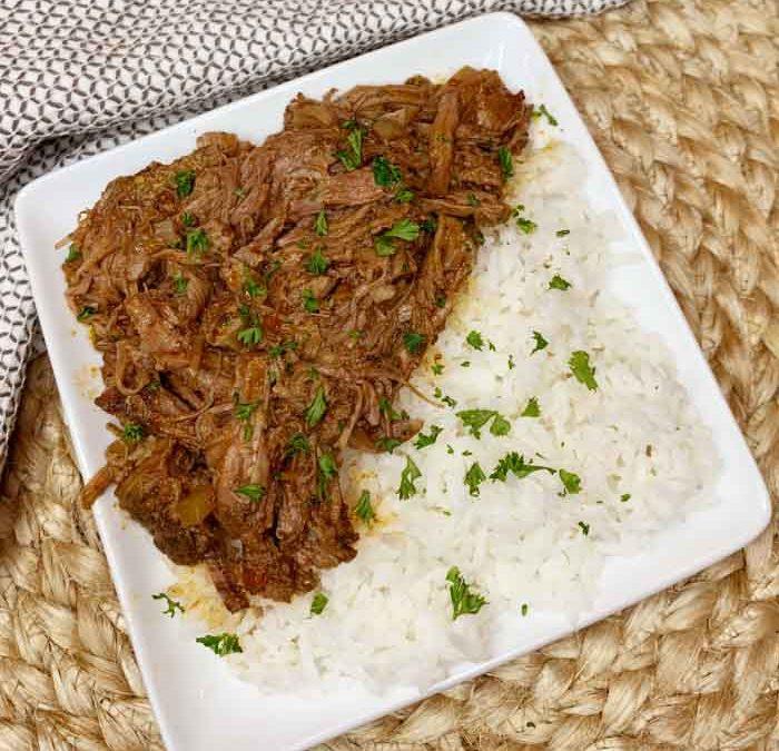 Instant Pot Caribbean Pot Roast