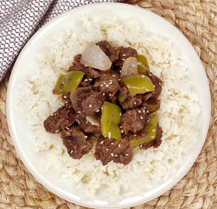 Crock Pot Teriyaki Steak Bites