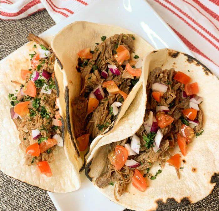Instant pot Easy Beef Brisket Tacos