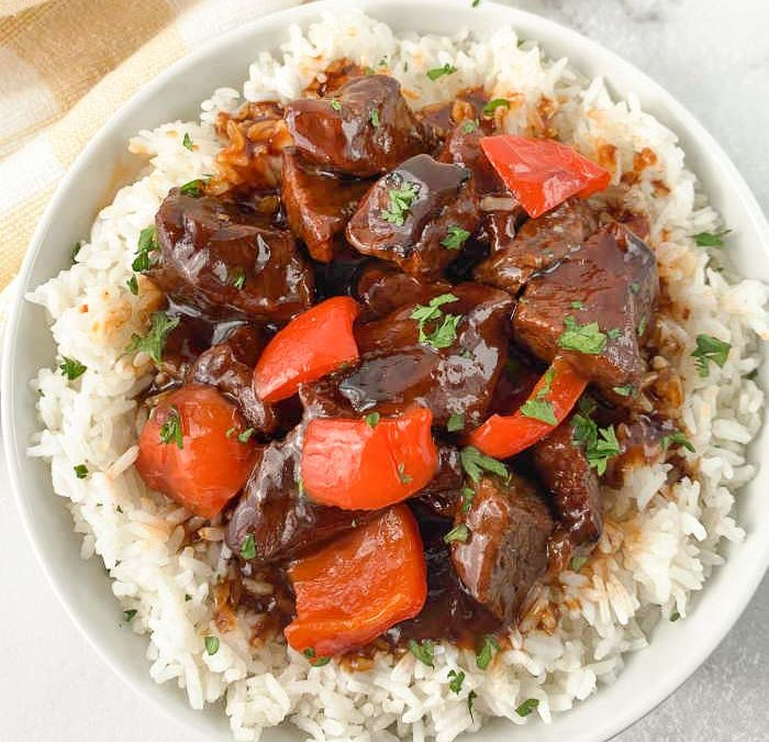Instant Pot Sweet and Sour Beef Recipe