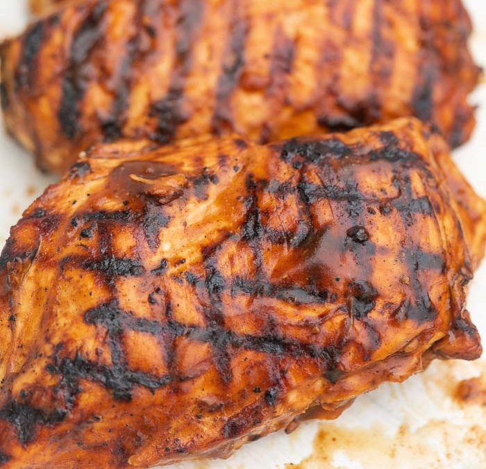 Crock Pot Easy Barbecue Chicken (GRILLING OPTION!)