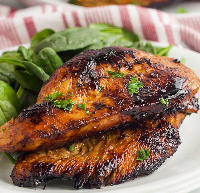 Crock Pot Easy Balsamic Chicken (Grilling Option!)