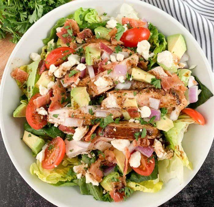 Instant pot Balsamic Chicken Salad