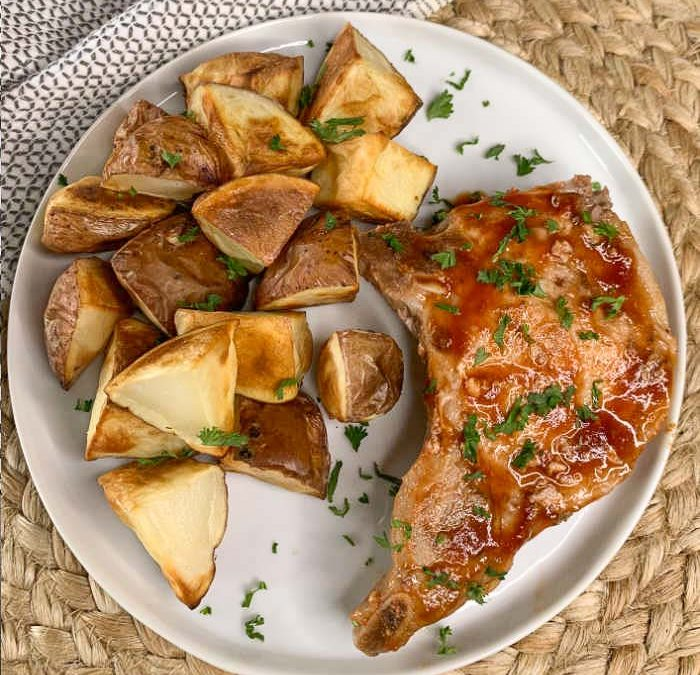 Instant Pot Easy BBQ Ranch Pork Chops