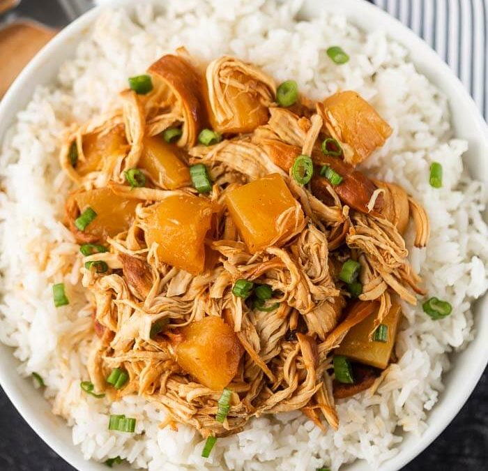 Crock Pot Easy Barbecue Pineapple Chicken