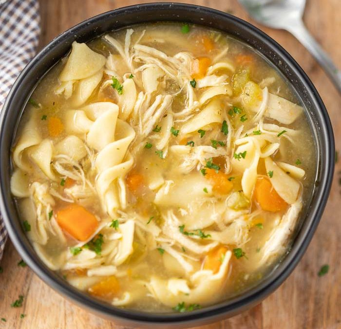 Instant Pot Copycat Panera Bread Chicken Noodle Soup