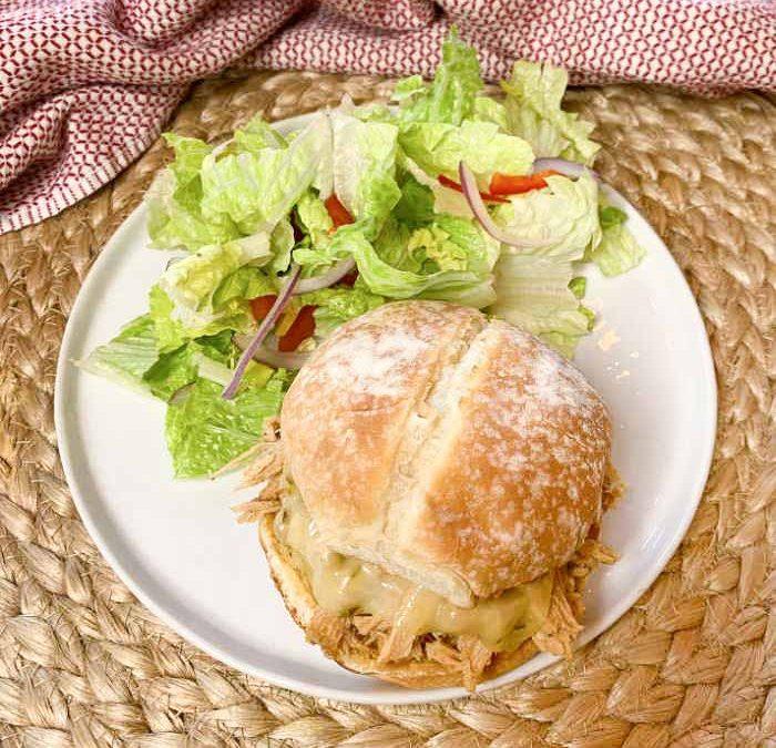 Crock Pot Cajun Shredded Pork Sandwiches