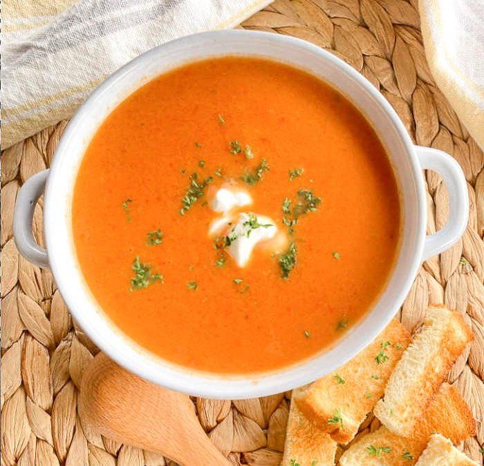 Instant Pot Creamy Chipotle Tomato Soup