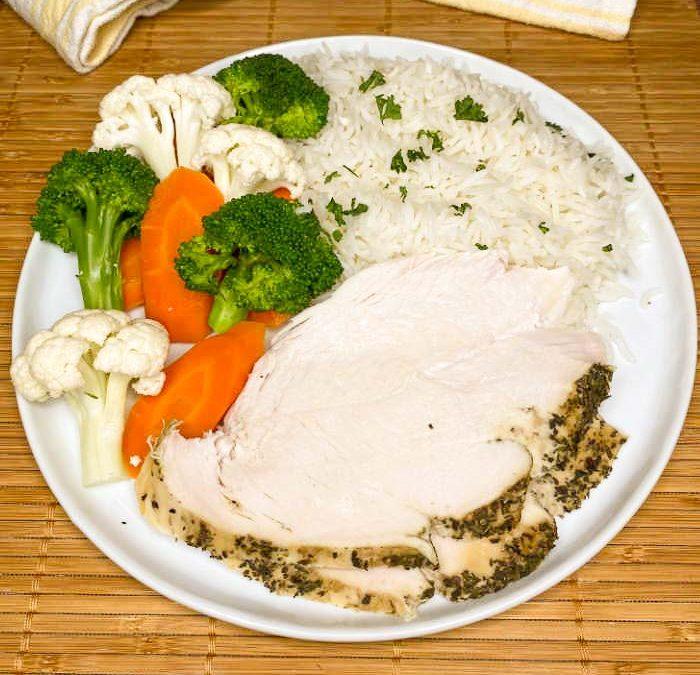 Crock Pot Greek Style Turkey Breast