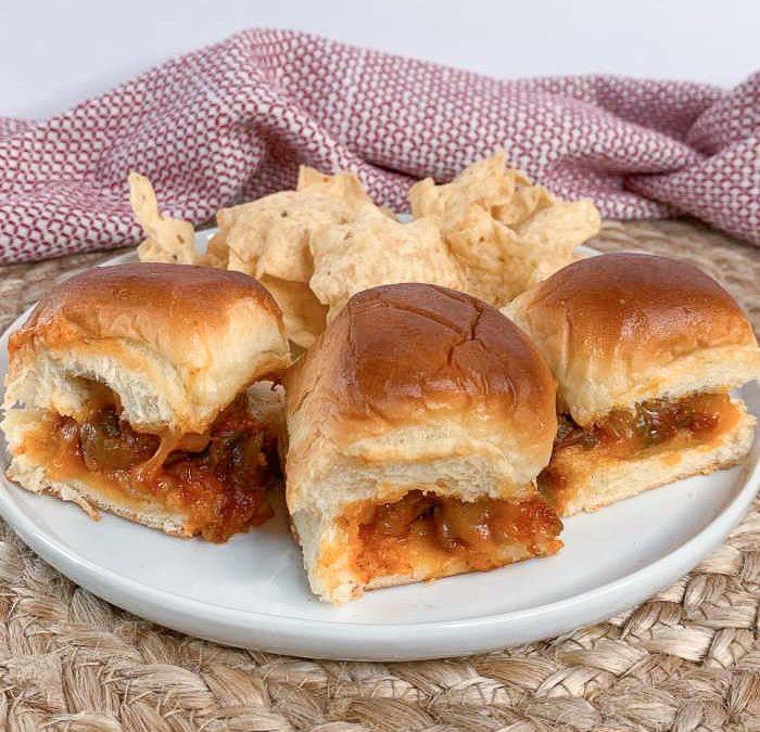 Instant Pot Taco Meatball Sliders