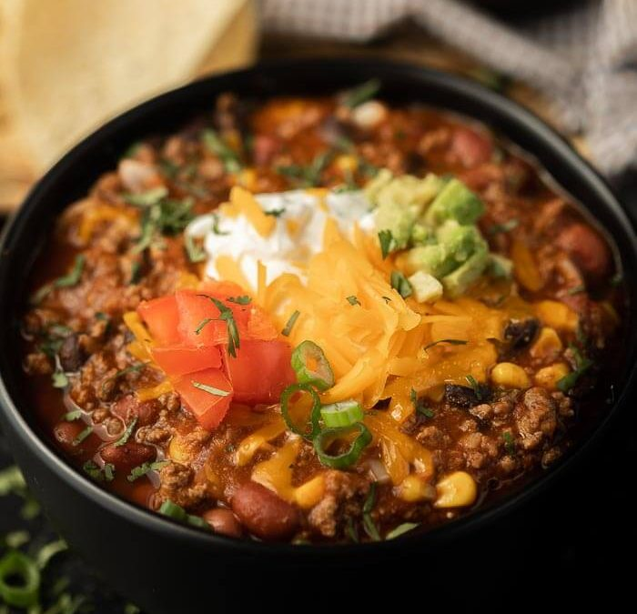 Instant pot Easy Beef Taco Chili
