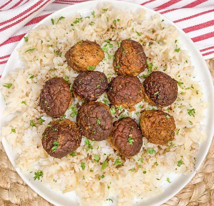 Instant Pot Balsamic Glazed Meatballs