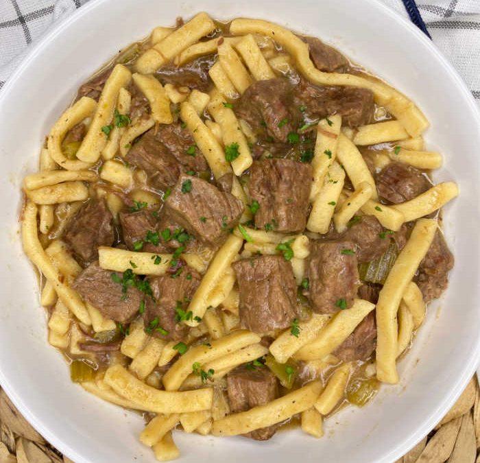 Crock Pot Beef and Noodles Recipe
