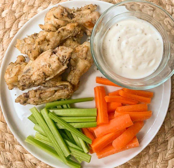 Crock Pot Italian Chicken Wings