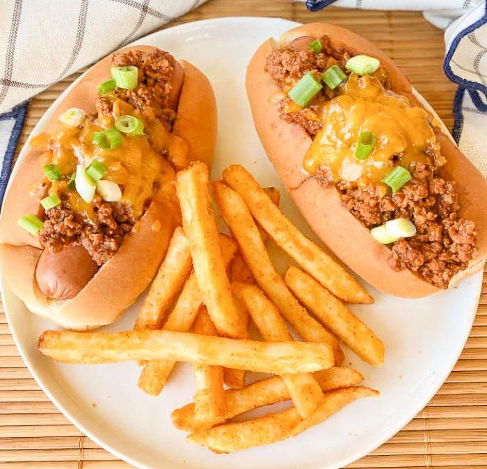 Crock pot Chipotle Chili Dogs