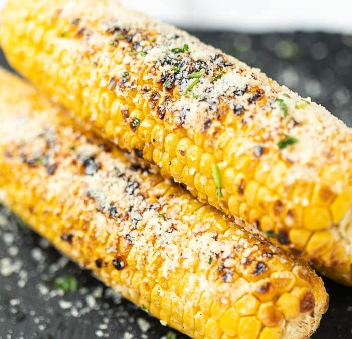Parmesan Grilled Corn on the Cob