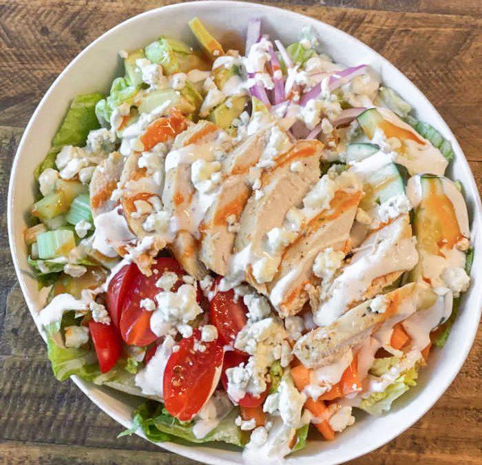 Instant Pot Buffalo Chicken Salad (GRILLING OPTION!)