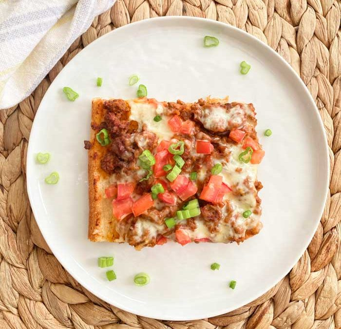 Instant Pot Easy Taco Style Pizza