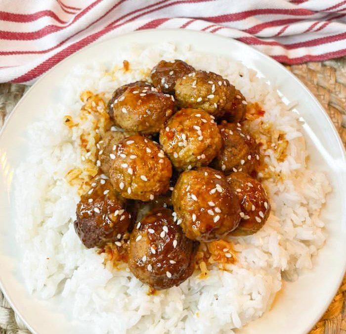 Instant Pot Sticky Asian Meatballs