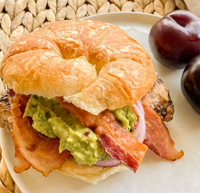 Instant Pot California Chicken Club Sandwich (GRILLING OPTION)