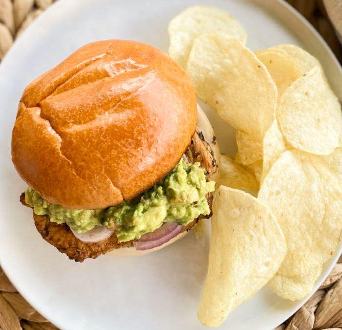 Instant Pot California Chicken Sandwich (GRILLING OPTION)