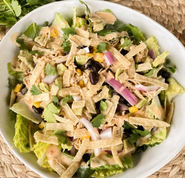 Instant Pot Chipotle Ranch Chicken Salad