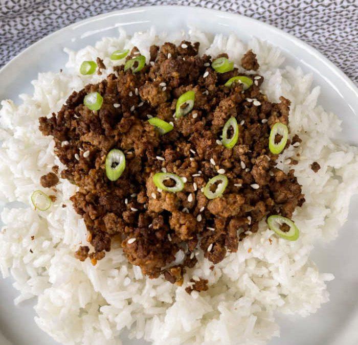 Instant Pot Easy Asian Beef