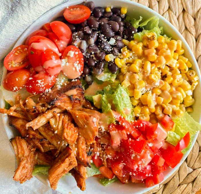 Instant Pot Smokey Pork Salad