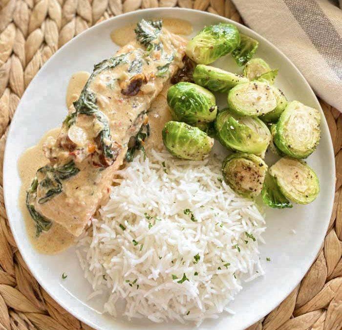 Instant Pot Tuscan Salmon Recipe