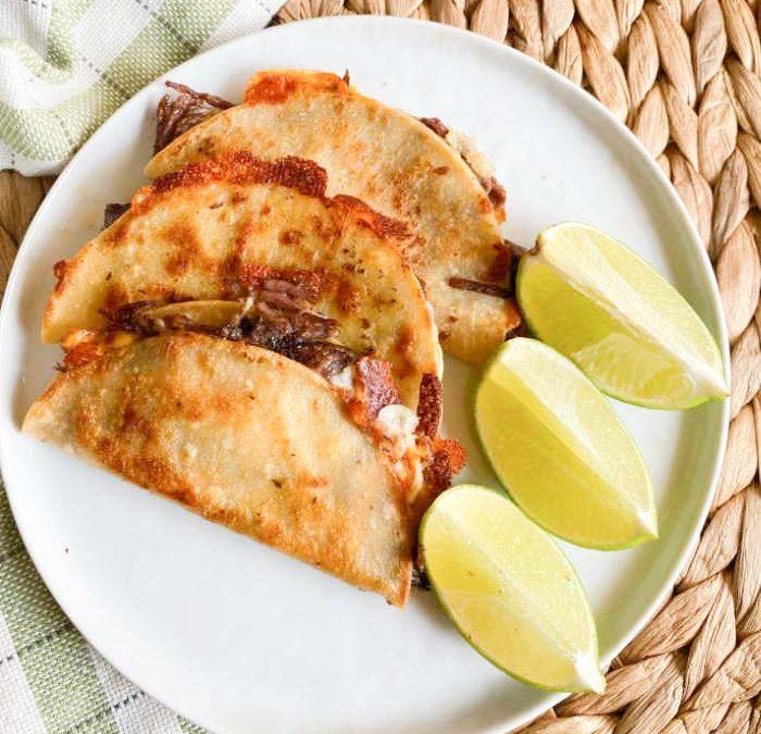 Instant pot Easy Birria Tacos