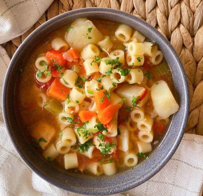 Instant Pot Sicilian Chicken Soup Recipe
