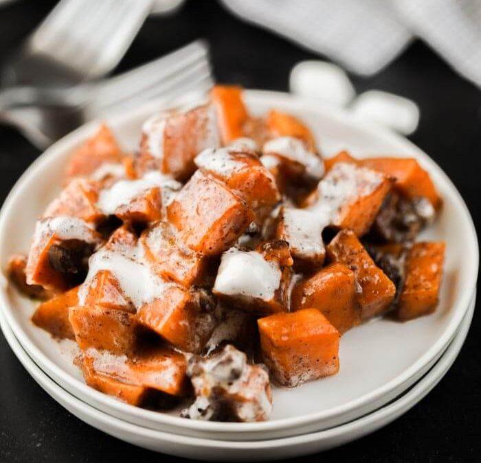 Crock pot Sweet Potato Casserole