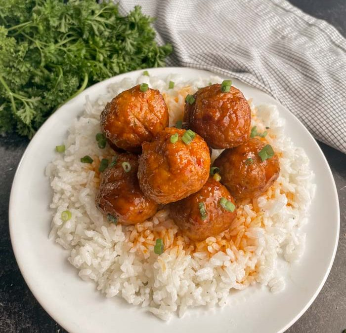Instant Pot Easy Sweet and Tangy Meatballs