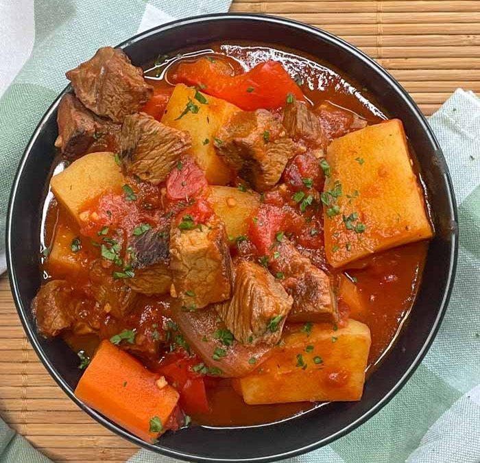 Instant Pot Chipolte Beef Stew