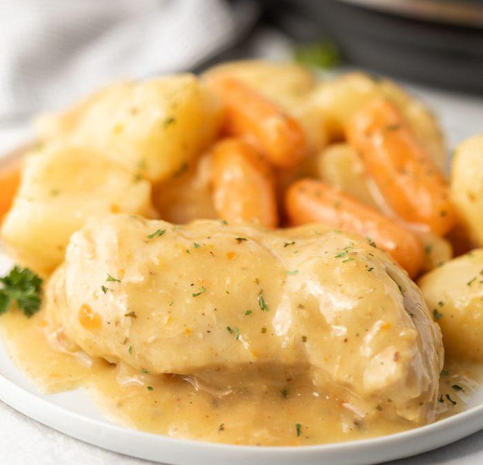 Instant Pot Easy Ranch Chicken Dinner